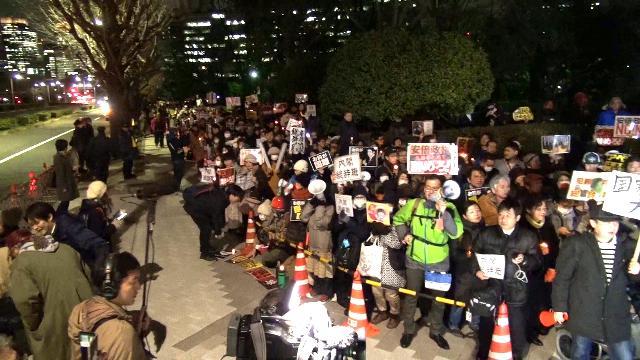 030709 - Labornet「アベとアソウは今すぐやめろ!」〜国会前で内閣総辞職を求める大抗議 (anti-Abe, Aso Demo)